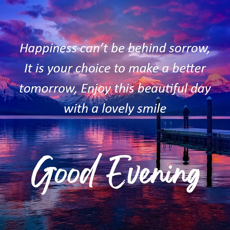 enjoy beautiful evening with lovely smile