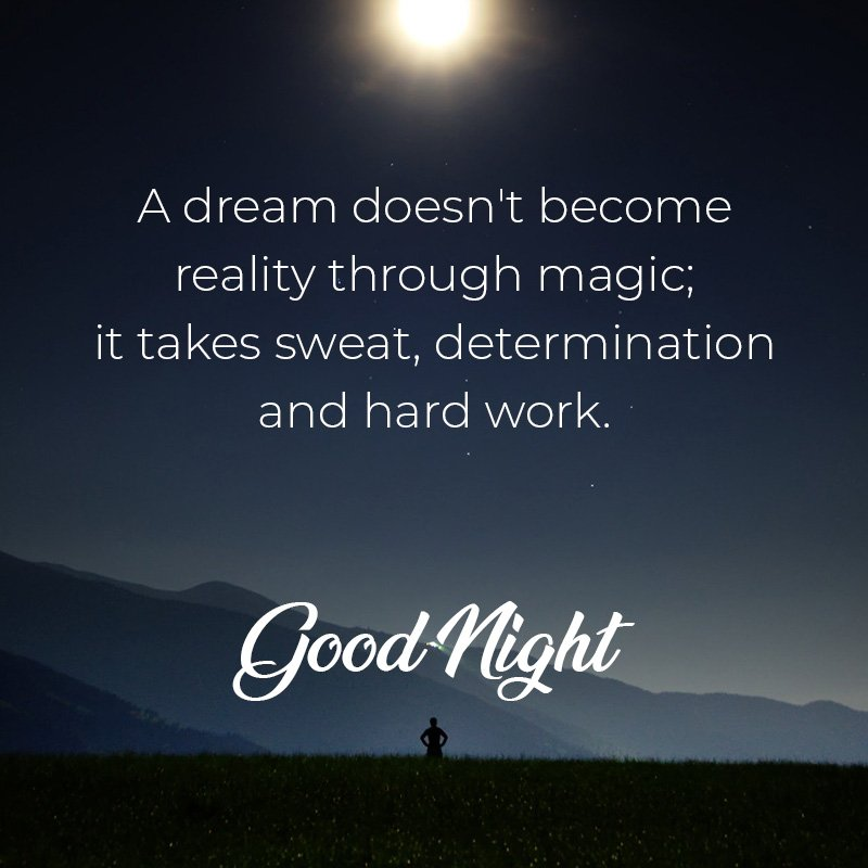 Good night wish